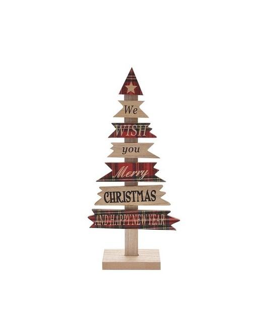 Choinka Ozdobna Świąteczna Krata wzór 1 - 1943436