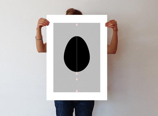 1 - ręcznie wykonana grafika - 50 x 70 - 1976655