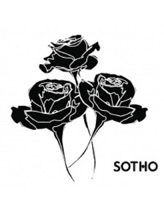 Tatuaż Trzy Czarne Róże Pakamerapl