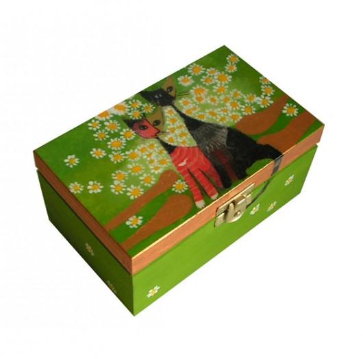 Pudełko Koty W Zieleni Zamówienie Pakamerapl