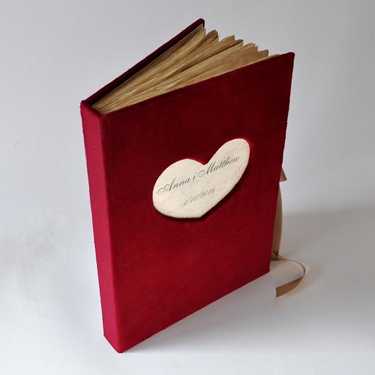 A4 aksamitna księga gości - 2004243