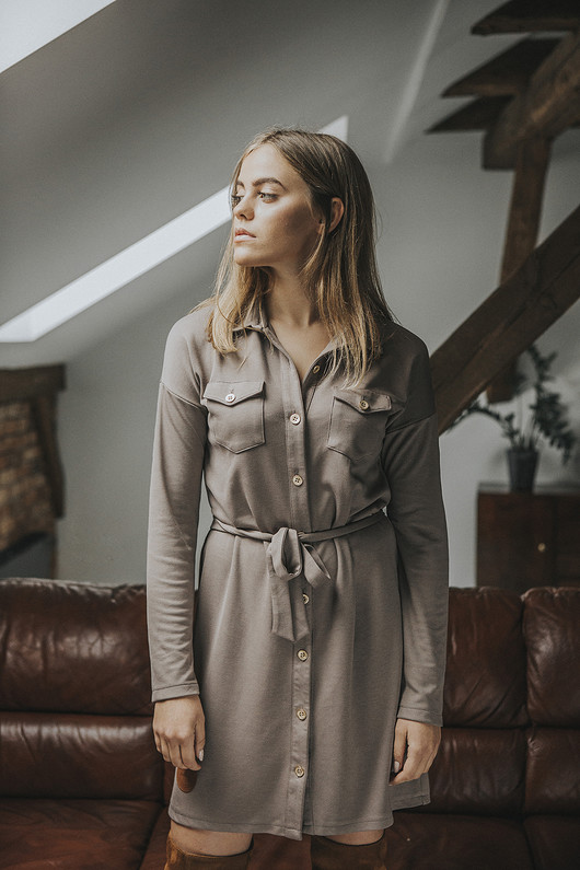 Sukienka koszulowa 'Kaya'