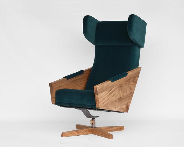 Fotel LIU velvet