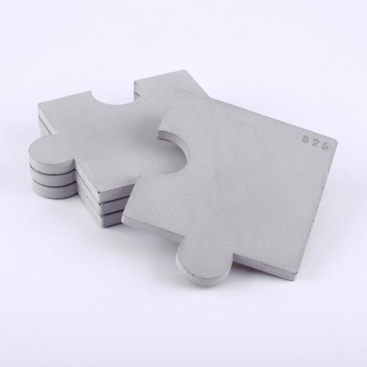 Podkładki puzzle 4szt. - beton architektoniczny - 1893478