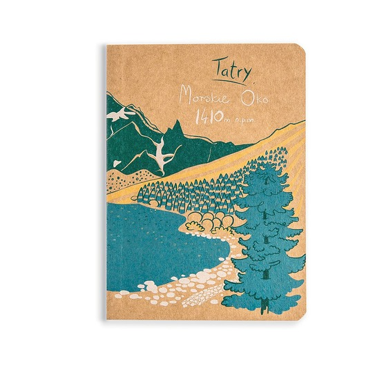 notesy, albumy-Notes Tatry Morskie Oko Grań