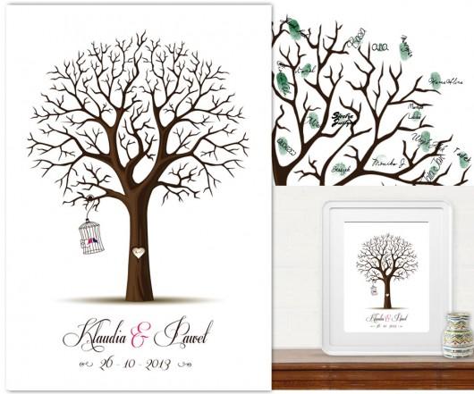 Nowy Design Drzewo Wpisów 40x50 Cm Pakamerapl