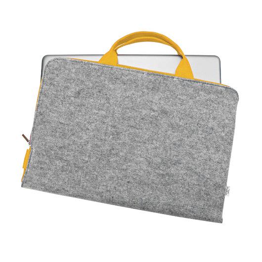 FILCOWE ETUI na laptopa żółte rączkii zamek