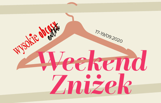 WEEKEND ZNIŻEK SALE
