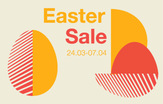 EASTER SALE 24/03 - 07/04